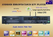 Karaoke Android KHP-8832 64bits 5TB HDD 52K Vietnamese, English songs DVD Player