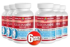 Glucosamine Sulfate. Mobility, Joints Support (6 Bottles, 360 Capsules)