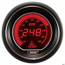 PROSPORT 52mm EVO Series Digital Red / Blue Led Oil Temperature Gauge Fahrenheit