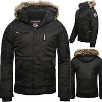 Geographical Norway Bizon Herren Winter Jacke Outdoor Parka Bomber Winterjacke