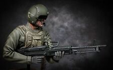 CUSTOM 1/6 SCALE RESIN KIT/ VIETNAM M60 HUEY DOOR GUNNER (BUST)