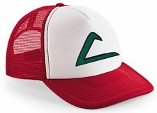 New Embroidered Pokemon Ash Signature Baseball Mesh Cap Hat Gift Present