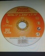 """Ultra thin cutting wheels for Right angle Grinder 4-1/2""""x.040""""x7/8"""" 25per pack"""