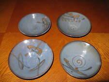 Set of 4 Stoneware Rice Bowls by Vasileios Tsentas Florida