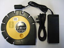 High Power Digital 12V Tyre Inflator, Air Compressor & Mains Power Supply.