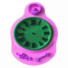 Funny Silicone Clock Shaped Mold Fondant Cake Mould  Watch Candy Baking Tool