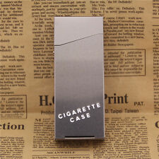 Lady Women Slim Aluminum Cigarette Case Metal Holder Box for 100's King Size New