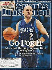 **GFA Sports Illustrated *JASON KIDD* Signed SI Magazine AD1 COA**