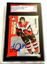 LOGAN COUTURE SIGNED 2005/06 HEROES AND PROSPECTS CARD #400 SGC AUTHENTICATED
