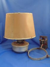 Vintage Aladdin Railroad Caboose Lamp/Lantern - Model C with Bracket & Shade