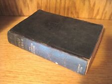 Holy Bible Teacher's Edition 1898 Bagster Q&A, Illustrated, Color Maps