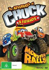 THE ADVENTURES OF CHUCK & FRIENDS Monster Rally DVD R4 PAL