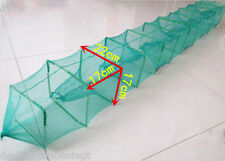 8 Import High Quality Portable Foldable Fishing Trap Cast Net Crab Fish Minnow