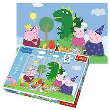 Trefl 24 Piece Maxi Unisex Peppa Pig Garden Picnic Large Pieces Jigsaw Puzzle