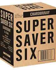 Super Saver Six Chardonnay Dry White Wine 2012* 6 x 750mL case of 6