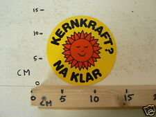 STICKER,DECAL KERNKRAFT ? NA KLAR