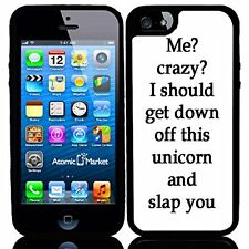 Funny Me Crazy Phrase For Iphone 6 Case Cover
