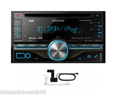 KENWOOD DPX406DAB Auto / Van CD iPod 2-DIN DAB Stereo Bluetooth + Antenna-Refurb