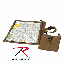 9238 Rothco Map and Document Case - Coyote Brown