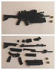 "1/6 Scale (12"" Figure) M16/M203/Scopes/Grenades/Assault Rifle-Soldier Story/GI"