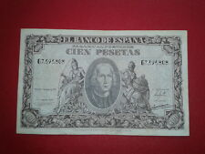 SPAIN P-118a BILLETE 100 PESETAS 1940 CRISTOBAL COLON MBC SERIE G 7395808