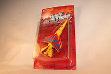 MATCHBOX SKYBUSTERS SB-3 MIRAGE MILITARY FIGHTER JET, RED & YELLOW, NEW IN BOX