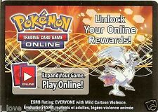LOT OF 2 X POKEMON ONLINE CODE CARD FROM THE 2012 RESHIRAM EX TIN
