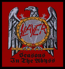 SLAYER - Patch Aufnäher - Seasons in the abyss RAR!