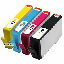 4 Pack New Gen for HP 564XL Ink Cartridge Photosmart 5514 5515 5510 5520 Printer