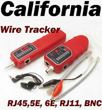 Wire Coaxial Cable Tracking Network Tester line RJ45 RJ11 Telephone Phone LAN 11