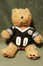 Nanco Animaland Brown Teddy Bear w/ Football Jersey Plush Stuffed Animal 11""
