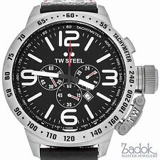 TW Steel Canteen Chronograph 50mm Men's Stainless Steel Quartz Watch
