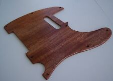 True Custom Shop® 1 PIECE SOLID MAHOGANY WOOD Pickguard FENDER TELE TELECASTER