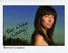 WHITNEY CUMMINGS - Signed 10x8 Photograph - WHITNEY & BROKE GIRLS (US)