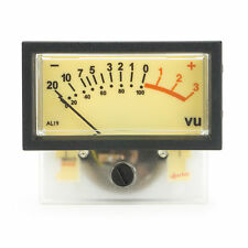Sifam AL19WF VU-Meter mit 12V Oberbeleuchtung - Overhead Lamp Edition