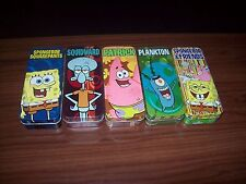 Complete Set of 5 Burger King Spongbob Squarepants Watches 4 Unopened 1 Opened