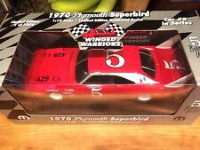 1970 #5 Bobby Unser Plymouth Superbird Winged Warriors (1 of 1008)  1/18 Scale