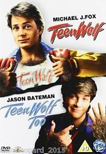 TEEN WOLF PART 1 and 2 MOVIE FILM DVD Collection Michael J Fox New UK Release