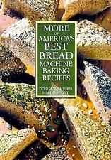 More of America's Best Bread Machine Baking Recipes-ExLibrary