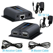LKV372Pro HDMI Network Extender+Receiver w/ Loop-out 196ft/60m Over Cat6/Cat7