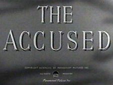 THE ACCUSED (DVD) - 1949 - Robert Cummings,Loretta Young