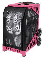 ZUCA Bag TIGER Insert & Pink Frame w/Flashing Wheels - FREE SEAT CUSHION
