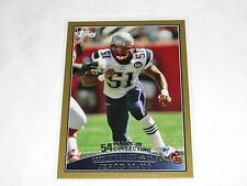 2009 Topps JEROD MAYO #324 Gold Bordered SP/2009 New England PATRIOTS Volunteers