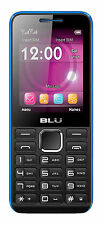 BLU Tank II T193 Unlocked GSM Dual-SIM Feature Phone - Black/Blue - Brand New