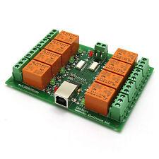 USB 8 Canaux Carte Relais / relays - 10A(220V) / USB relay board