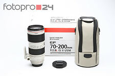 Canon EF 70-200 mm 2.8 L IS II USM + OVP + Gut (215158) (UY0701)