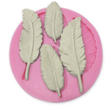Cookie Chocolate Soap Mold Cutter Modelling 3D Feathers Fondant Cake
