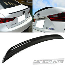 """SHIP OUT IN 1 DAY Carbon For LEXUS IS250 IS300h Sport B Style Trunk Spoiler 16"