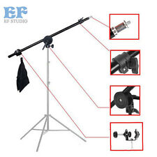"Photography 55"" Video Studio Lighting Boom Arm Grip Head Light Stand Arm Bar"