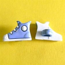 20 Football Shoes Sport Dress It Up Kid Sweater Sewing Buttons Blue K726